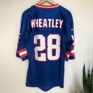 Vintage New York Giants Tyrone Wheatley Jersey